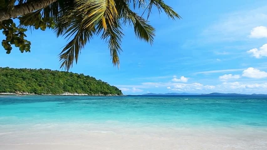 Peaceful tropical beach