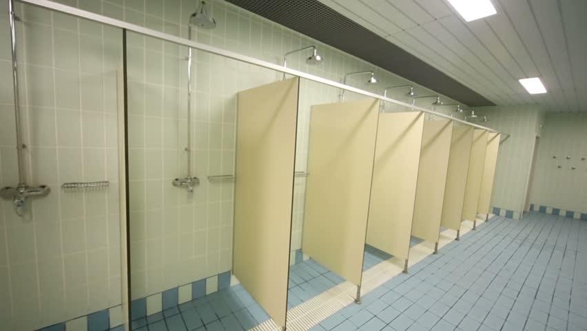 Public Nude Shower 68