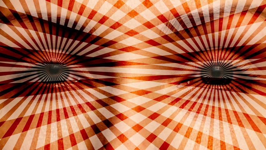 Fade-in to hypnotizing eyes