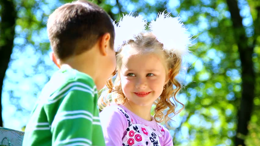 Love child couple Wallpaper : Girl And Boy Playing Outside With Insects Stock Footage Video 3436043 - Shutterstock