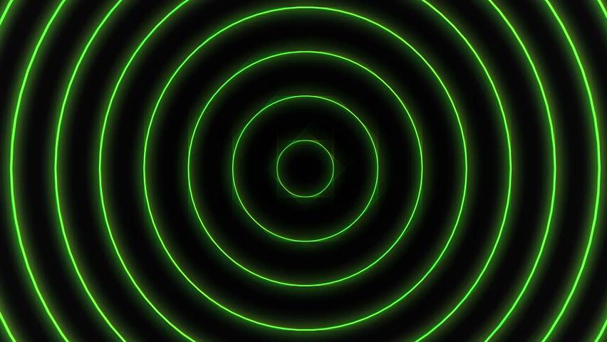 beautiful neon circles 4k - photo #5