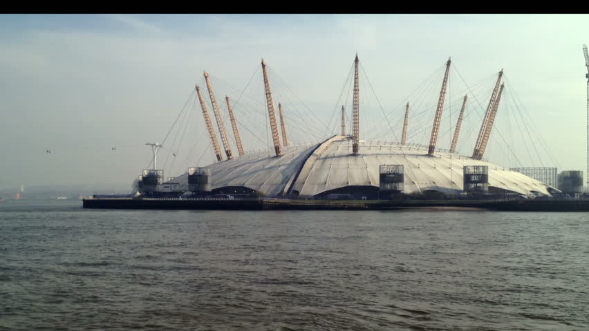 London - 14th March: The O2 was originally built as the Millennium Dome, on the Greenwich Peninsula, South East London. The 02, London - March 14th, 2014.