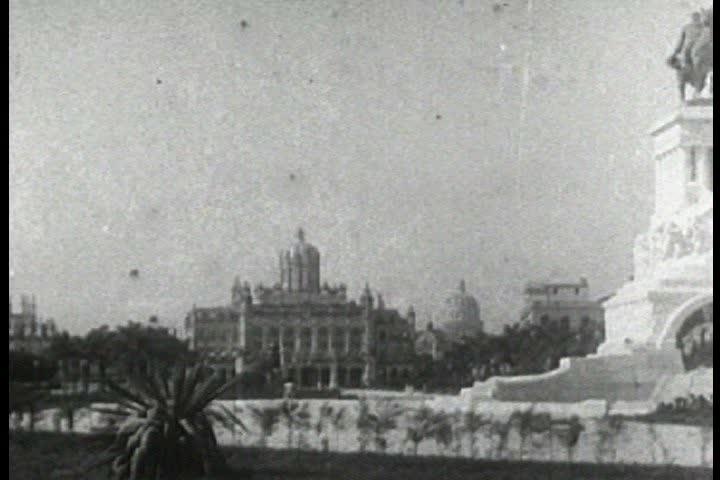 CIRCA 1930s - Travelogue of Havana Cuba in 1937.