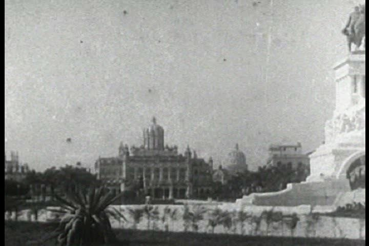CIRCA 1930s - Travelogue of Havana Cuba in 1937.