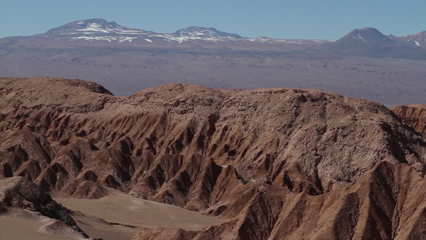 Mountains in Atacama Desert, Chile - HD stock footage clip