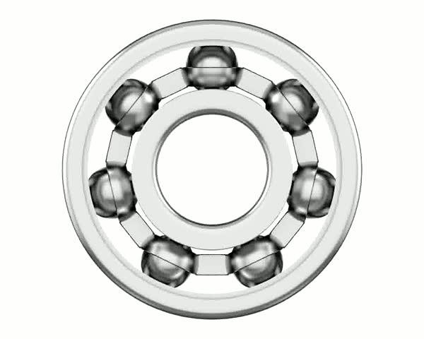 Ball bearing - HD stock footage clip