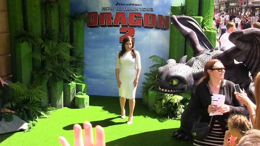 LONDON - JUNE  22: America Ferrera attends the UK Gala Screening of 'How To Train Your Dragon 2' in 3D at Vue West End on June 22, 2014 in London