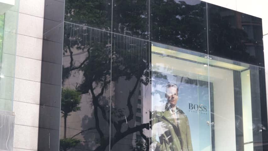Kuala lumpur malaysia circa june 2014 hugo boss outlet German fashion and style house
