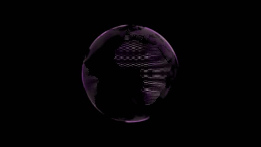 world ball connection motion graphic stock footage video Rotation Clip Art Spinning Earth Clip Art