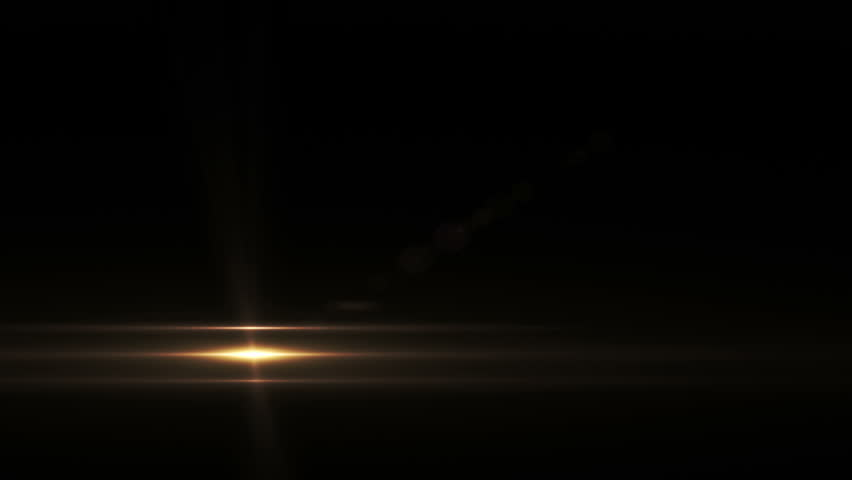 Optical Flare Lines - Lower Third Light FX - 01 - Hot golden lightning animation for background, transition and overlay... Blend with texts, pics and clips as Screen, Light, Add … Perfect on dark...