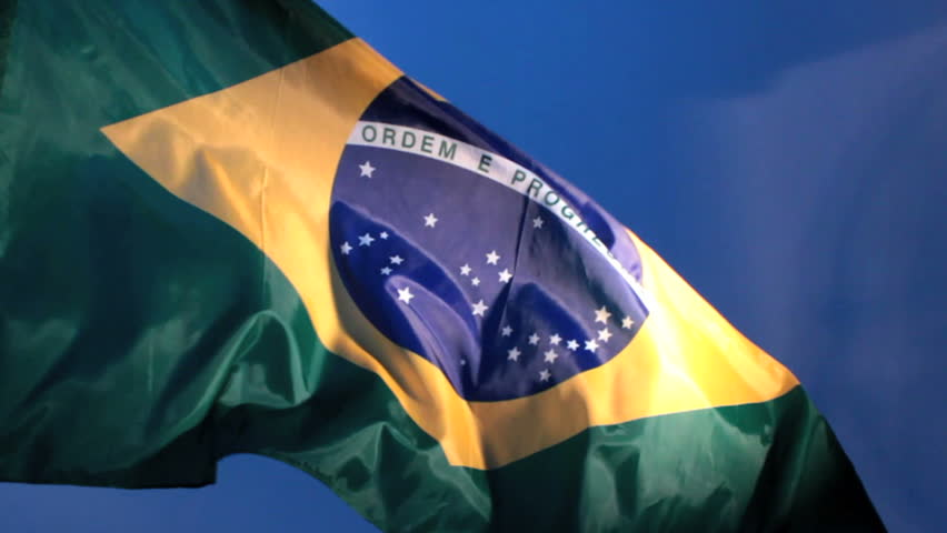Real Brazilian flag - Brazil