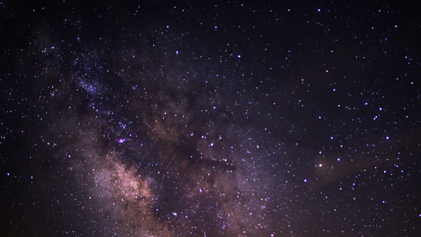 Milky Way Galaxy 94 Timelapse Mojave Desert Red Rock Canyon 2014 July