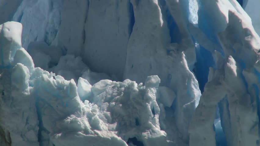 Perito Moreno glacier, El Calafate, Argentina. Tripod  - HD stock video clip
