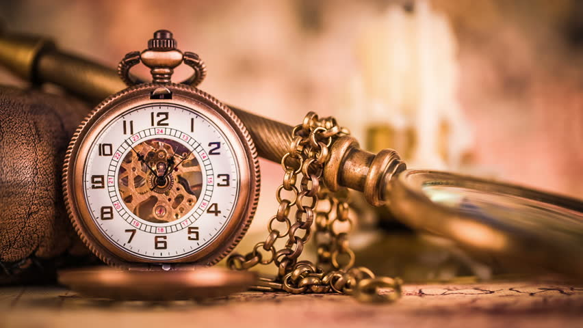 Sports Wallpapers Backgrounds Hd By Pocket Books: Vintage Antique Pocket Watch. Stock Footage Video 7253791