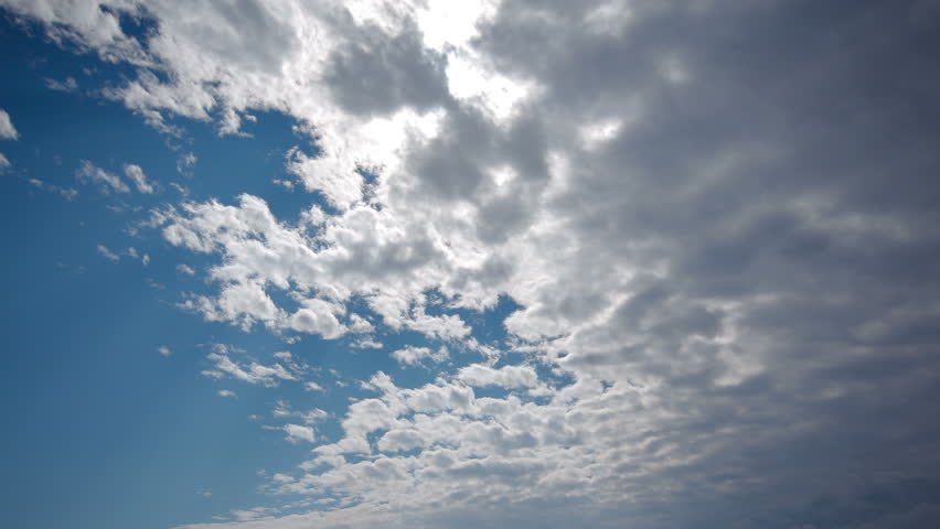 Spectacular sky clouds beautiful timelapse 4K UHD