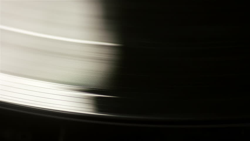 Vinyl Records rotate.