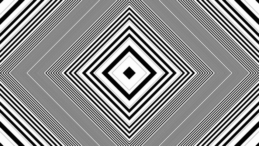 Hypnotic rhythmic movement black and white shapes 01 stock for Black and white shapes