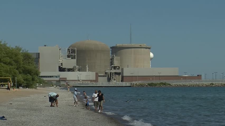 Pickering (ON) Canada  city photo : PICKERING, ONTARIO, CANADA, JULY 2014, Pickering Nuclear Reactor Stock ...