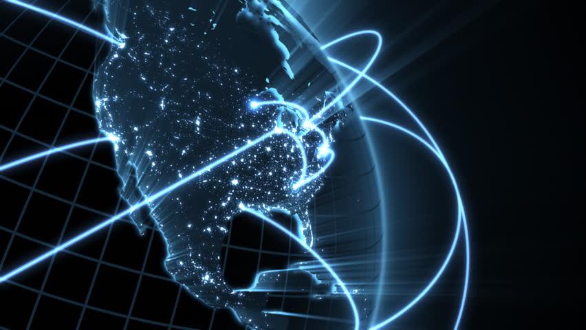 Growing Global Network  - blue version