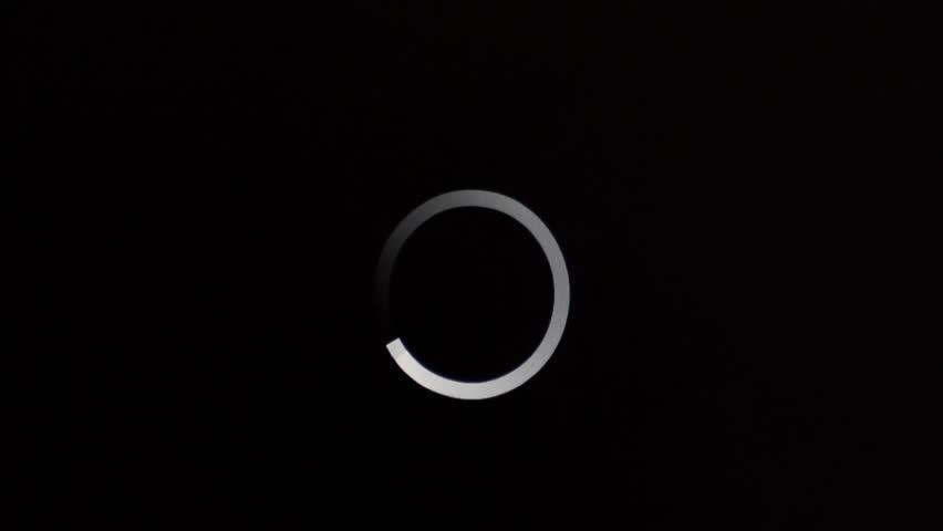 Loading Circle timelapse