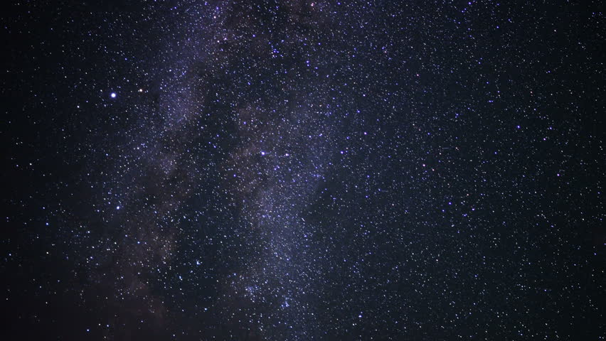 Milky Way Galaxy 100 Timelapse Sierra Nevada Mountains