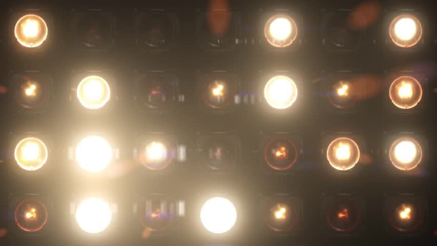 VJ Lights Flashing Spotlight Wall stage led blinder blinking chromlech club concert dance disco dj matrix beam dmx fashion floodlight halogen headlamp jarag lamp  night club party pub showtec vj loop