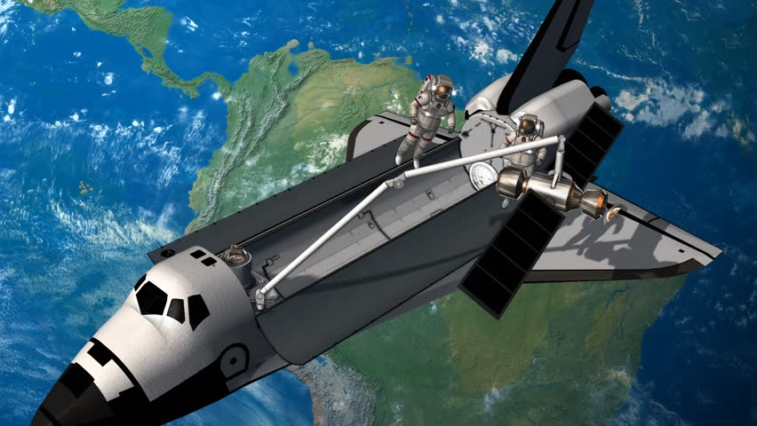 space shuttle trip around earth - photo #40