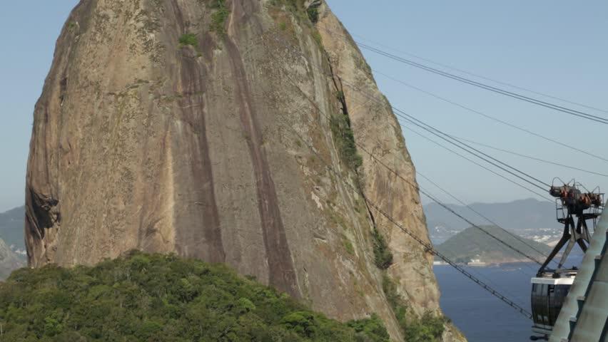 Sugarloaf Tram by the tilt up movement - Rio de Janeiro  Location: Sugarloaf  Source: 5D Mark III  Original File