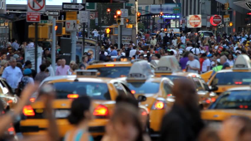 Crowd, New York City