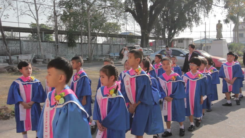 Header of academic gown