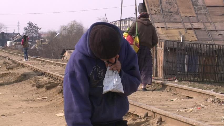 Romania Baia Mare - 11 march 2015  Gypsy families live without water and without power1 1 march 2015 Romania Baia Mare