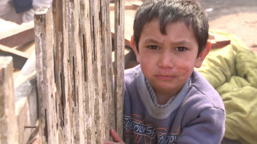 Romania Baia Mare - 11 march 2015  Gypsy boy lives without water and without power1 1 march 2015 Romania Baia Mare
