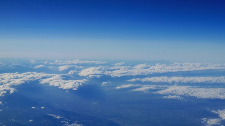 plane clouds and mountains - photo #15