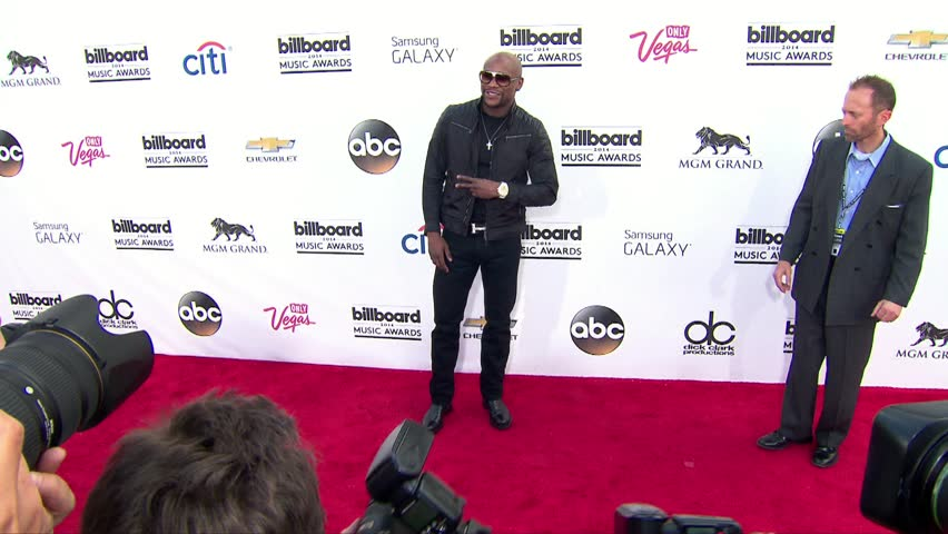 Las Vegas, CA - May 18,2014: Floyd Mayweather Jr at Billboard Music Awards 2014, MGM Grand Garden Arena