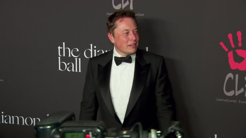 Beverly Hills, CA - December 11,2014: Elon Musk at Diamond Ball 2014, The Vineyard Beverly Hills