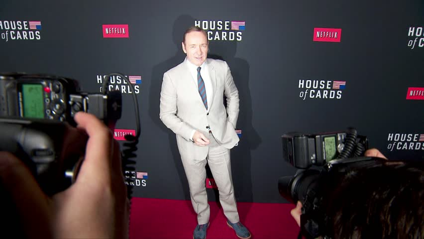 Los Angeles, CA - February 13,2014: Kevin Spacey at House of Cards Season 2 Premiere, DGA Theatre